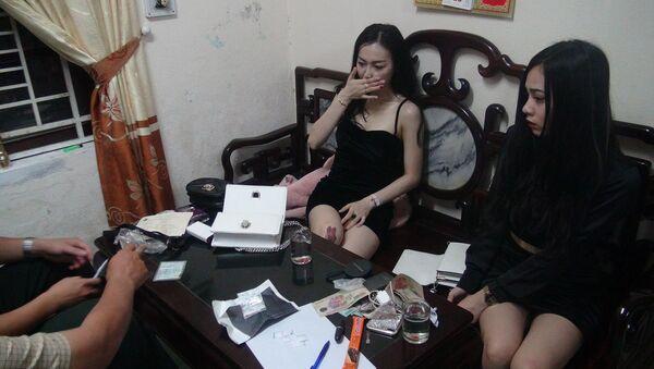 Hai cô gái bị tạm giữ vì tàng trữ ma túy - Sputnik Việt Nam
