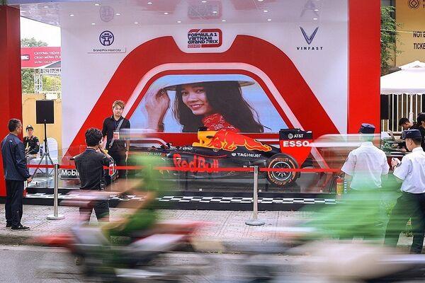 Chiếc F1 được trưng bày tại Hà Nội. - Sputnik Việt Nam