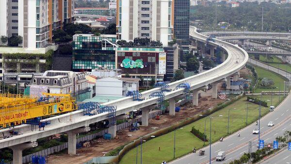Tuyến metro số 2 TP.HCM - Sputnik Việt Nam