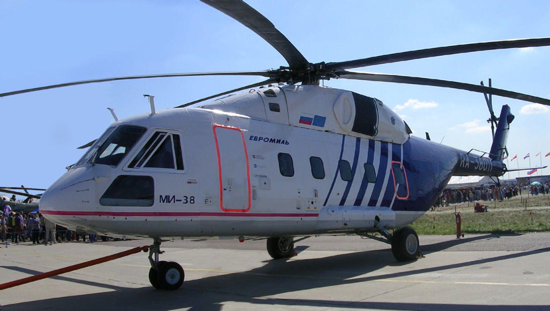 Trực thăng Mi-38 - Sputnik Việt Nam, 1920, 11.08.2021
