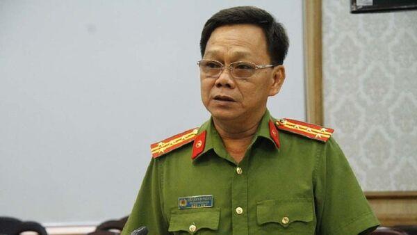 Đại tá Nguyễn Văn Thắng – Trưởng phòng cảnh sát kinh tế Công an tỉnh Bình Dương cung cấp thông tin về vụ việc - Sputnik Việt Nam