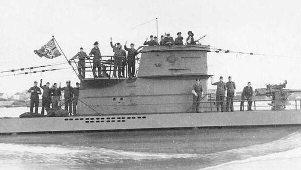 Tàu ngầm Nazi U-2513 - Sputnik Việt Nam