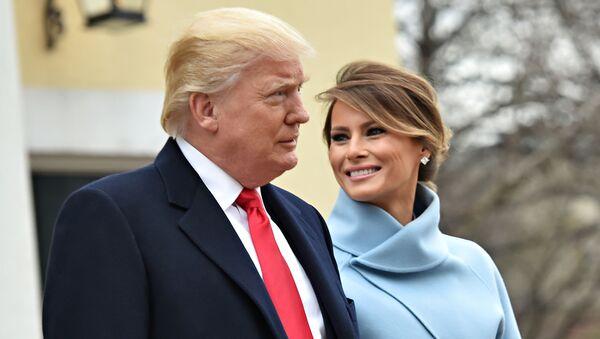 Tổng thống Trump và vợ - Sputnik Việt Nam