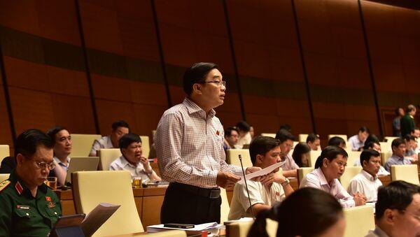 Đại biểu Quốc hội Nguyễn Minh Sơn. - Sputnik Việt Nam