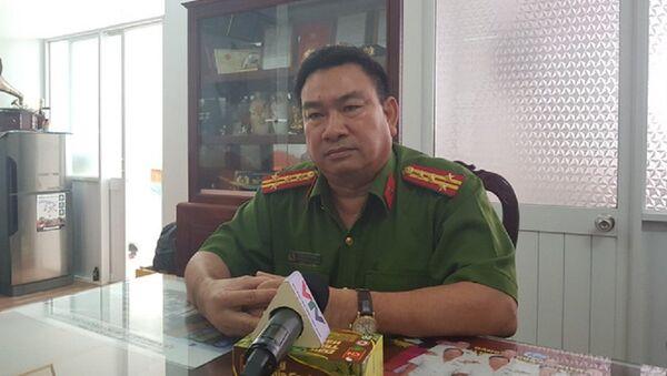 Đại tá Trần Văn Sáu, Trưởng Công an quận Ninh Kiều - Sputnik Việt Nam