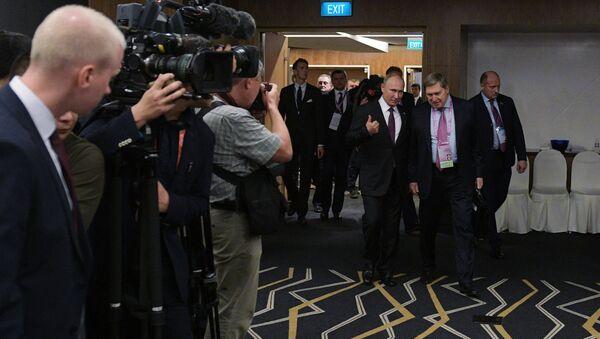 Tổng thống Putin ở Singapore - Sputnik Việt Nam
