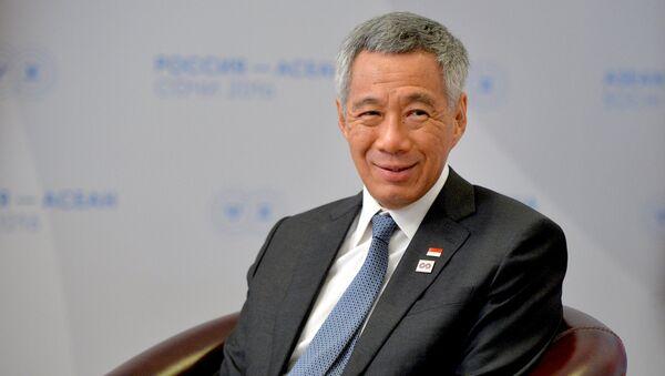 Thủ tướng Singapore Lý Hiển Long.  - Sputnik Việt Nam