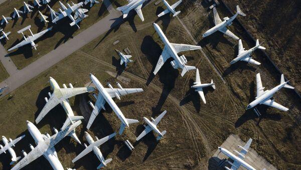 Hiện vật máy bay và trực thăng trong Bảo tàng Không quân Nga tại Monino - Sputnik Việt Nam