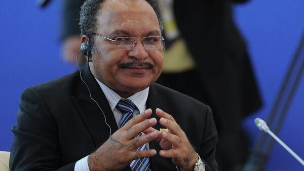 Thủ tướng Papua-New Guinea Peter O'Neil - Sputnik Việt Nam