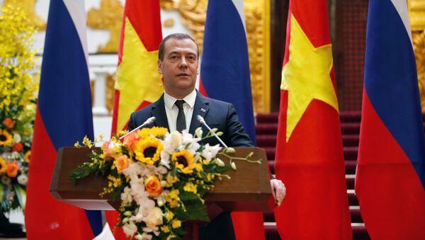 Thủ tướng Nga Dmitry Medvedev tại Hà Nội - Sputnik Việt Nam