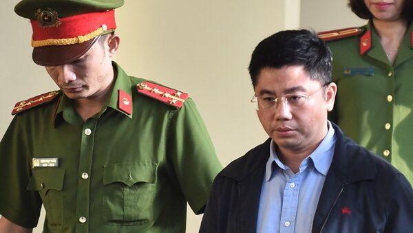 Bị cáo Nguyễn Văn Dương, Chủ tịch HĐTV CNC - Sputnik Việt Nam