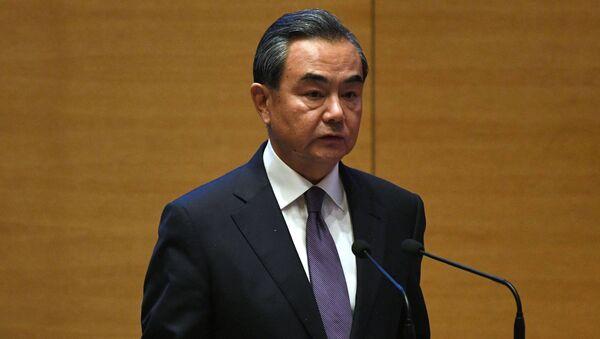 Bộ trưởng Bộ Ngoại giao Trung Quốc Vương Nghị - Sputnik Việt Nam