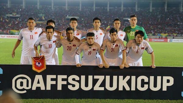 Đội hình xuất phát của đội tuyển Việt Nam. - Sputnik Việt Nam