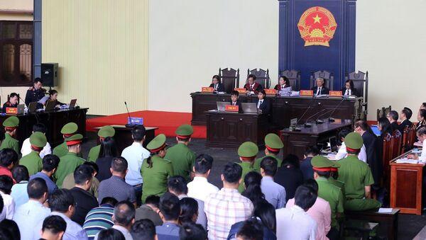 Toàn cảnh phiên xét xử. - Sputnik Việt Nam