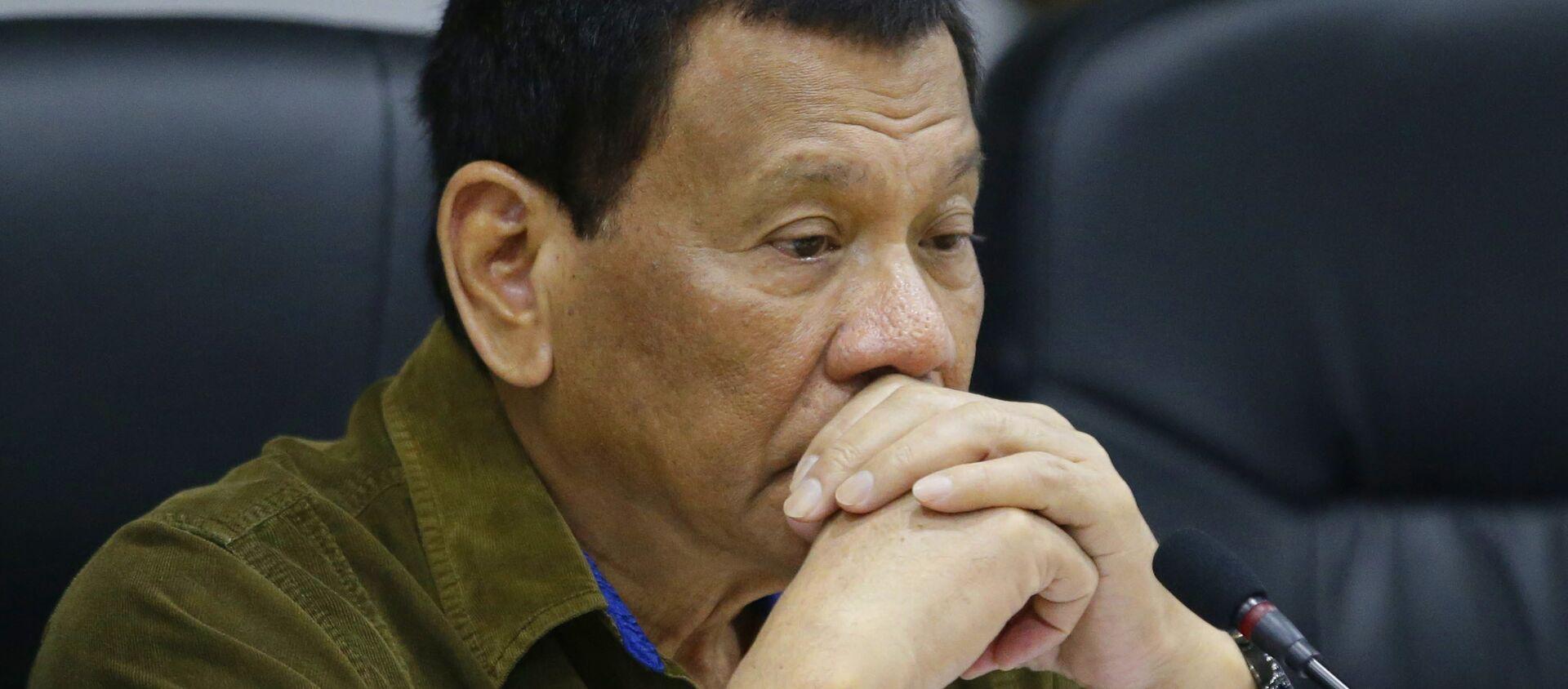 Tổng thống Philippines Rodrigo Duterte  - Sputnik Việt Nam, 1920, 26.03.2021