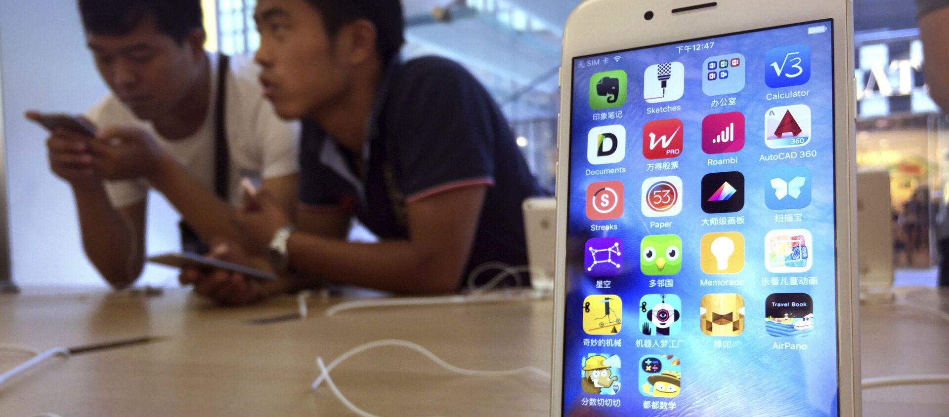 Apple iPhone 6S tại Trung Quốc  - Sputnik Việt Nam, 1920, 01.04.2021