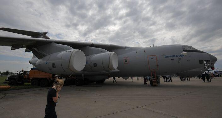 Máy bay vận tải quân sự Il-76MD-90A