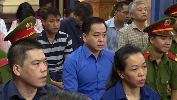 """Bị cáo Phan Văn Anh Vũ (Vũ """"nhôm"""") tại phiên tòa sáng 27/11/2018. - Sputnik Việt Nam"""