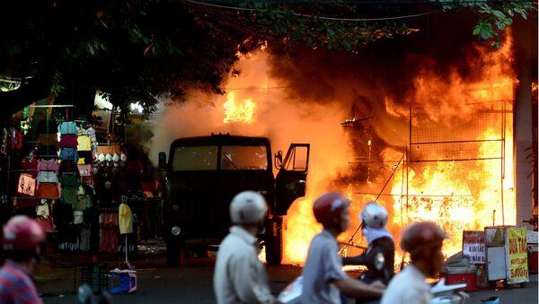 Hiện trường vụ cháy - Sputnik Việt Nam
