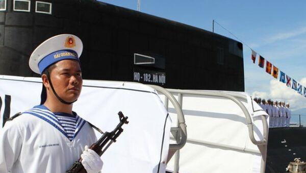 Chiến sĩ hải quân tàu ngầm Hà Nội - Sputnik Việt Nam
