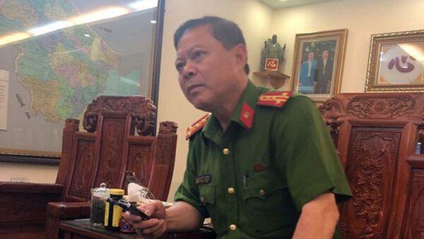 Đại tá Nguyễn Chí Phương Trưởng công an TP. Thanh Hoá - Sputnik Việt Nam