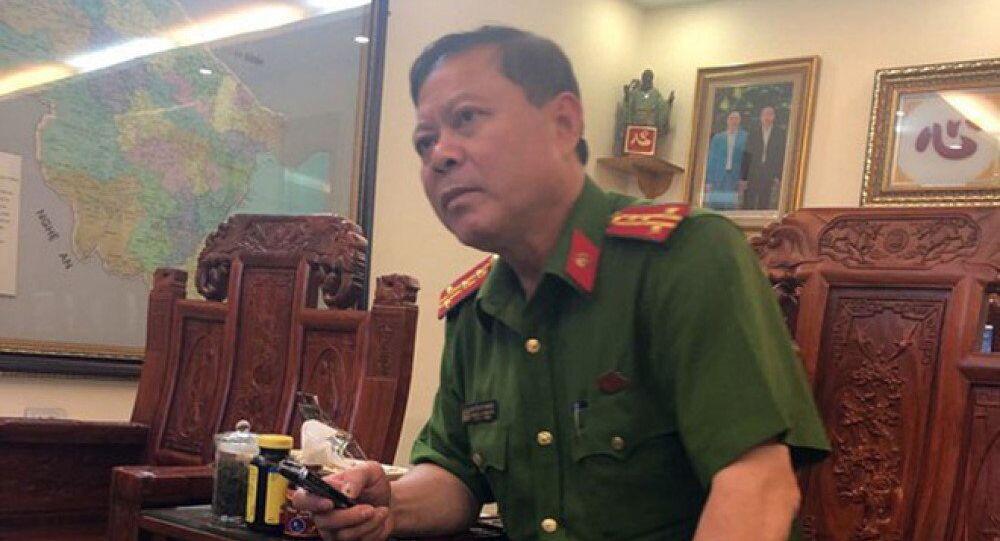 Đại tá Nguyễn Chí Phương Trưởng công an TP. Thanh Hoá