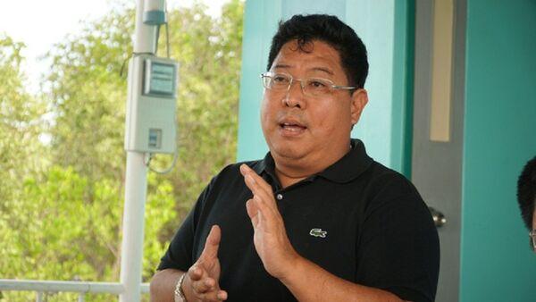 Ông Trần Song Hải, một CĐV nhiệt thành của bóng đá Việt Nam - Sputnik Việt Nam
