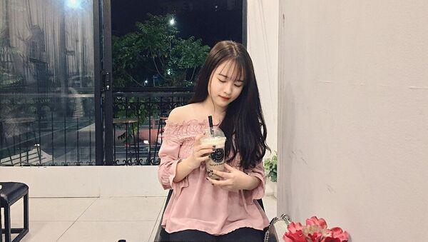 Nguyễn Kim Ngân, cô gái tử nạn trong vụ tai nạn xe Audi ở Hà Nội. - Sputnik Việt Nam