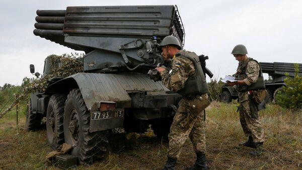 Hệ thống tên lửa Grad của Ukraina - Sputnik Việt Nam