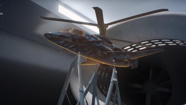Nga hiển thị khái niệm về máy bay trực thăng tốc độ siêu cao - Sputnik Việt Nam