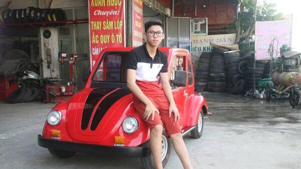 Học sinh lớp 11 'trình làng' ô tô điện tự thiết kế - Sputnik Việt Nam