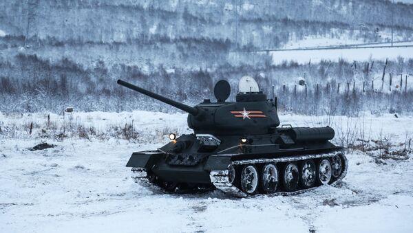 Xe tăng T-34 - Sputnik Việt Nam