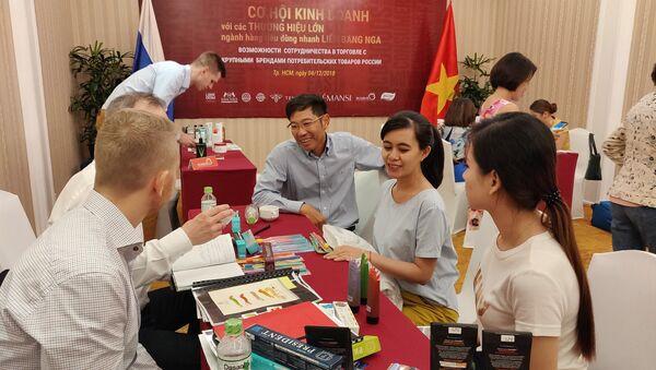 Các doanh nghiệp Việt Nam tìm hiểu sản phẩm Nga - Sputnik Việt Nam