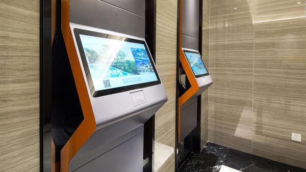 Khách sạn  Smart  LYZ ở Trung Quốc do robot phục vụ    - Sputnik Việt Nam