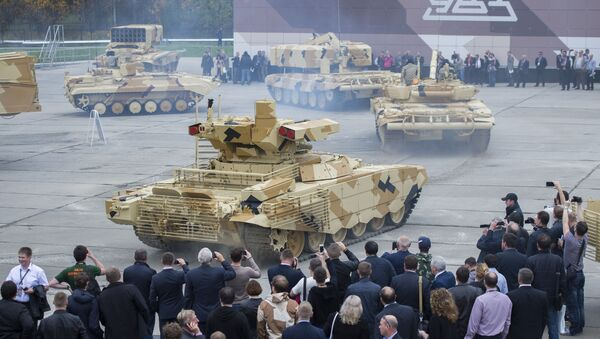 Những người tham gia triển lãm quốc tế Russia Arms Expo lần thứ 10 - Sputnik Việt Nam