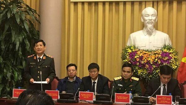 Trung tướng Nguyễn Văn Sơn nói về quy định cấp bậc hàm cấp tướng quy định với lực lượng công an - Sputnik Việt Nam