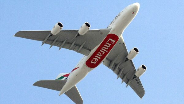 Airbus A380 của Emirates - Sputnik Việt Nam