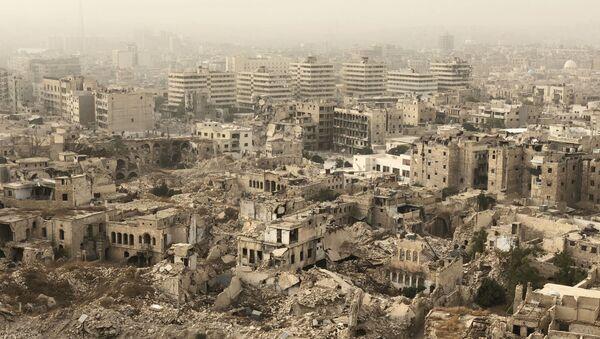 Thành phố Aleppo, Syria bị phá hủy - Sputnik Việt Nam