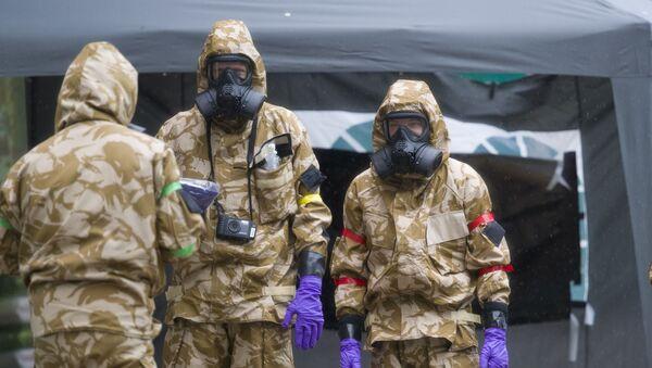 Tẩy rửa hóa học ở Salisbury sau vụ gia đình Skripal bị ngộ độc  - Sputnik Việt Nam