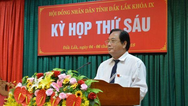 Phó chủ tịch HĐND tỉnh Đắk Lắk gian dối về bằng đại học - Sputnik Việt Nam