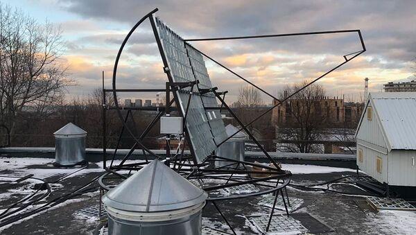 Một bộ hấp thụ bức xạ của ánh nắng mặt trời - Sputnik Việt Nam