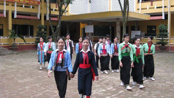 Trường phổ thông dân tộc nội trú huyện Thanh Sơn, Phú Thọ - Sputnik Việt Nam