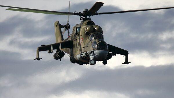Trực thăng chiến đấu Mi-24 - Sputnik Việt Nam