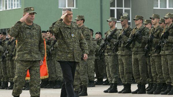 Quốc hội Công hòa Kosovo tự xưng phê chuẩn việc thành lập quân đội - Sputnik Việt Nam