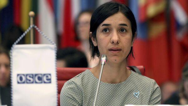 Nadia Murad, người được trao giải Nobel sẽ dành giải thưởng cho việc xây dựng bệnh viện - Sputnik Việt Nam