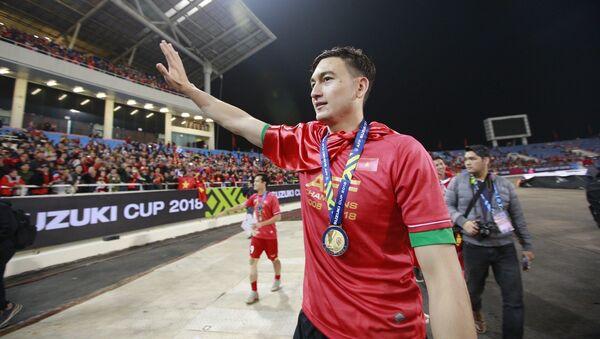 Thủ môn số 1 của đội tuyển Việt Nam Đặng Văn Lâm đã không phụ sự tin tưởng của Ban huấn luyện, của đồng đội và sự kỳ vọng của người hâm mộ khi có một giải đấu vô cùng xuất sắc. - Sputnik Việt Nam