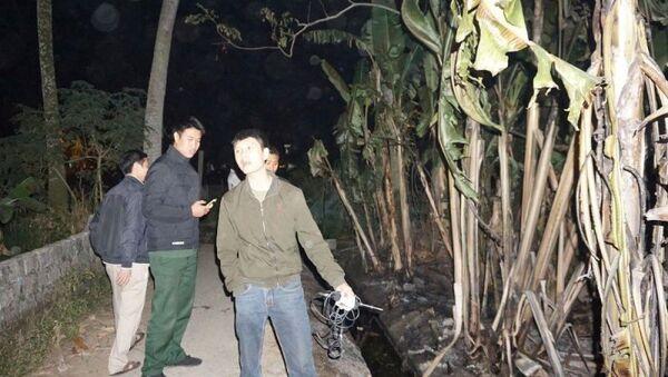 Dầu tràn ra hệ thống thoát nước khu dân cư rồi bốc cháy ở khu phố 5 - Sputnik Việt Nam