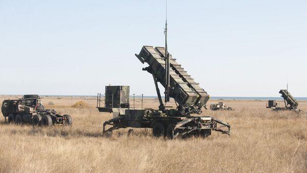 Hệ thống tên lửa phòng không Patriot. - Sputnik Việt Nam