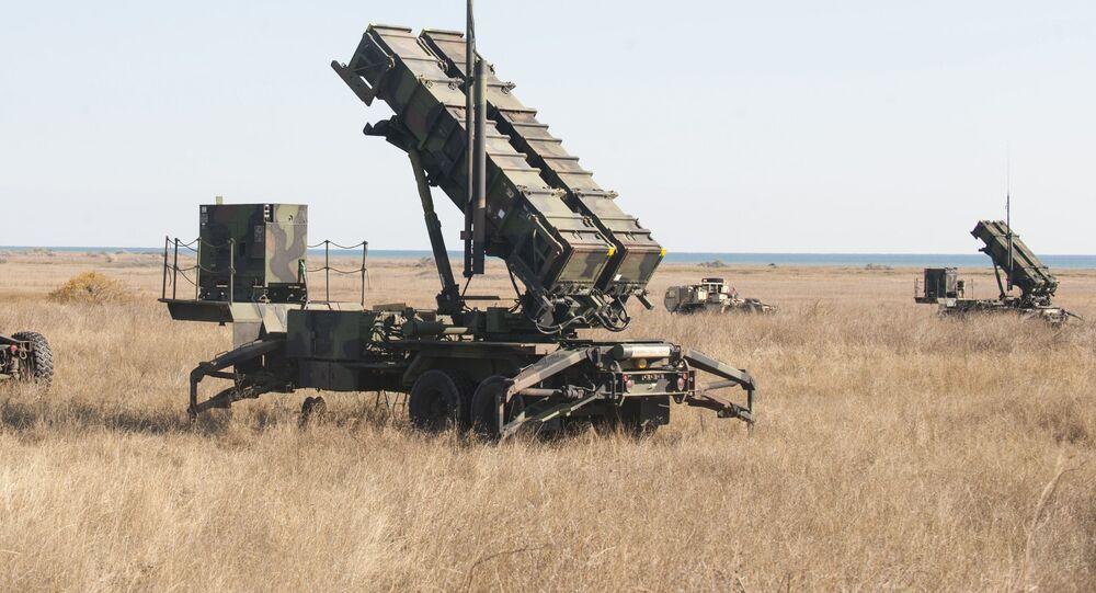 Hệ thống tên lửa phòng không Patriot.
