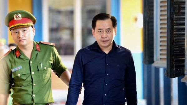 Bị cáo Phan Văn Anh Vũ sáng nay 20-12. - Sputnik Việt Nam